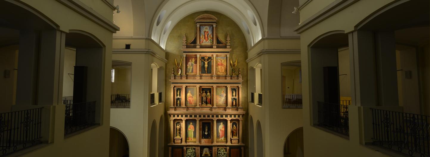 parroquia nules san bartolome y san jaime retablo